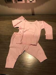 St Patrick Light Pink Baby Set / All in one