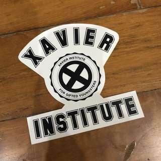 Pop Culture Luggage Laptop Misc Sticker Marvel Comics Xavier Institute For The Gifted School Logo Mascot Mutant