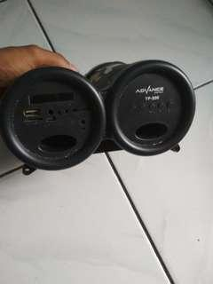 Speaker advance tp-200 no bluetooth