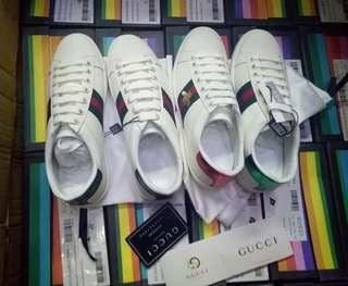 Restock: gucci plain and bee sneakers