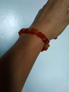 Orange yellow bracelet