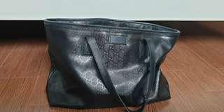 Authentic Gucci Imprime Black Medium Size