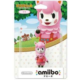 Nintendo Amiibo Lisa Reese Animal Crossing Series Figure MISB