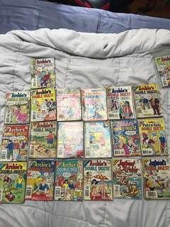 Archie double digest comics