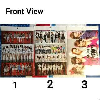 Girls' Generation A4 Paper File