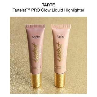 🚚 全新4折✨美國tarte Tarteist 打亮液 打亮膏PRO Glow Liquid Highlighter Stunner