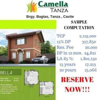 Camella Tanza 2BR to 5BR House and Lot Near VistaMall Tanza, The Most Affordable Camella project in South