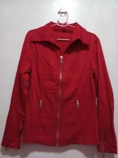 Red Fashion Jacket
