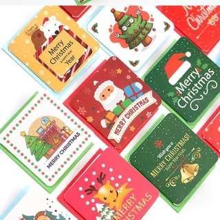 [24 DESIGNS] Mini Christmas Card