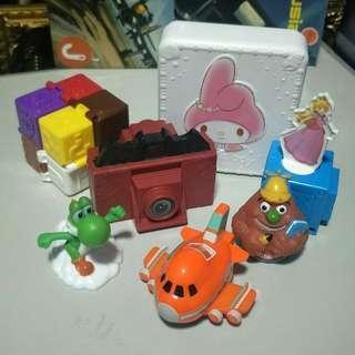 Used McDonald's Toys