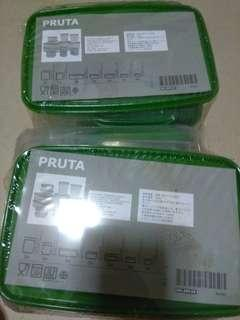 Pruta ikea food containers