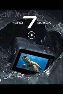 Go Pro Hero 7 Black - Limited sets available