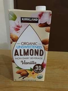 Kirkland Almond Milk Organic
