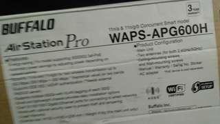 BUFFALO AirStation Pro WAPS-APG600H - wireless access point