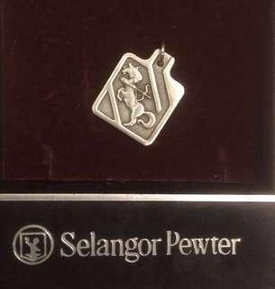 Royal Selangor Pewter zodiac pendant Sagittarius