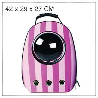 """Cheshire"" Astronaut Capsule Cat Bubble Backpack Carrier"