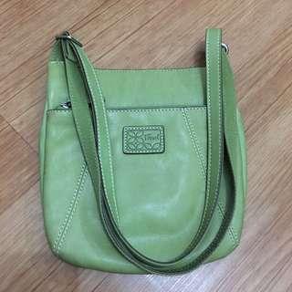 Fossil Green Shoulder Bag