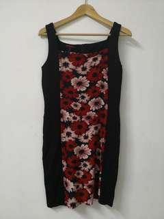 Colours floral Dress