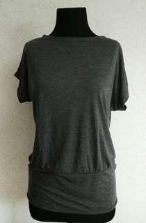 Grey Stretch Top