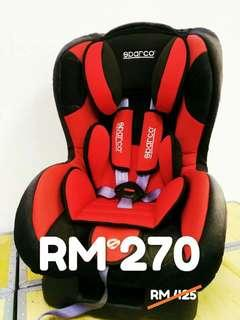Sparco carseat