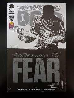 The Walking Dead #100 1st Negan PX Preview SDCC 2012 Exclusive