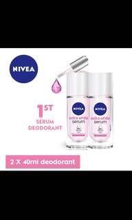Nivea Serum Deodorant x2