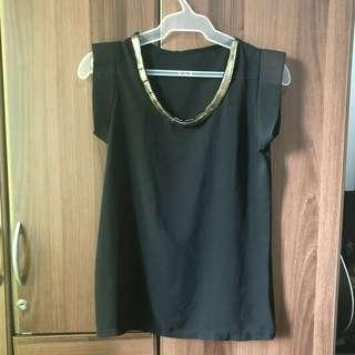 Formal Black/Gold Top (11/11 SALE!)