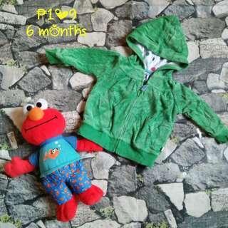 😊 Carter's Green Hoodie
