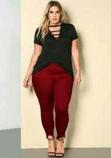 Shary plus size terno pants