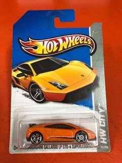 Hotwheels Lamborghini Gallardo LP570-4 HW CITY