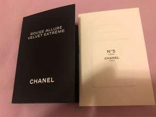 Chanel 香水 sample