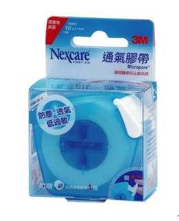 🚚 3M Nexcare 通氣膠帶(未滅菌)附膠台組