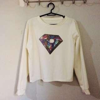 jukaykay diamond sweater