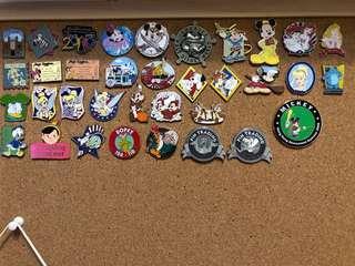 迪士尼徽章 Disney pin trading