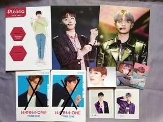 Wanna One Postcard