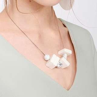 COS Styled Marble Necklace