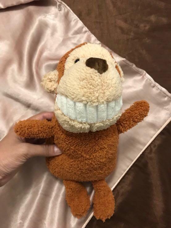露齒微笑猴子(娃娃選購三隻$180含運)