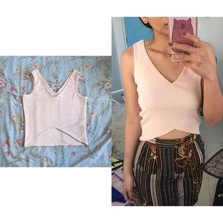Nude Styled Crop Top