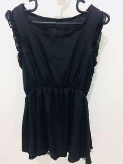 Shifon burkat hitam