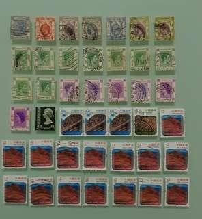 香港郵票 QV, KGV, KGVI, QEII 全部共 HKD$30.00