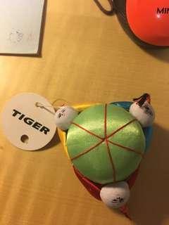 TIGER 吉針枕 (三小人造型)