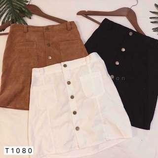 SALES‼️CASUAL BUTTONED DOWN SKIRT