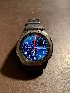 Samsung Gear S3 Frontier 智慧手錶 (近全新,配件齊全)