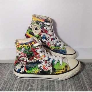 Sepatu Anak Converse x DC Comics Superman