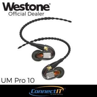 Westone UM Pro 10 In-Ear Earphone with Local Warranty