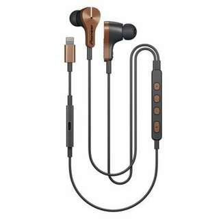 Pioneer Rayz Plus Noise Cancelling Talk Charge Smart Earbuds Bronze