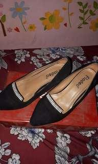 (Reprice) Fladeo suede shoes