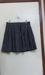 Checkered Schoolgirl Skirt