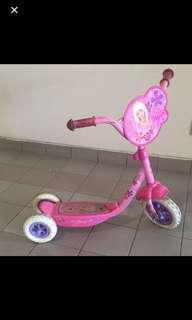 Children's scooter 🛴 Barbie pink girls