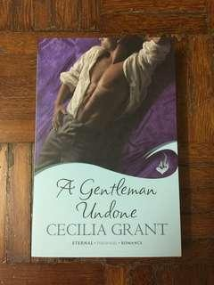 English Novel : A Gentleman Undone